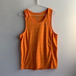 Orange Nike Dri Fit Tank Top Size Small